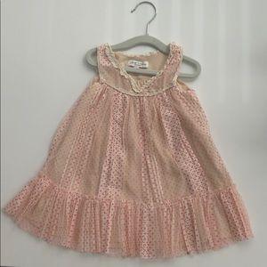 Other - 12-18 month Luna Luna pink polka dot dress